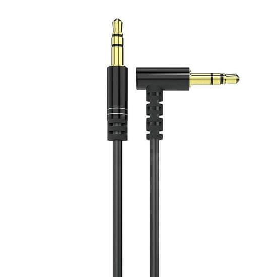 DUDAO L11 audio kábel 3.5mm mini jack 1m, fekete
