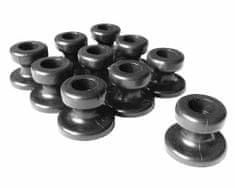 MAGG Plastový háček pro upevnění plachty provazem/gumou - 10 ks