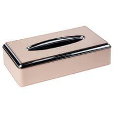 Pinetti Papirni robček s srebrnim robom, sivo-bež