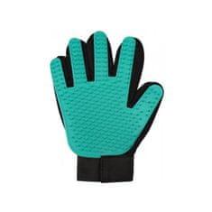 Merco rokavica za odstranjevanje dlak, gumijasta, črno-zelena