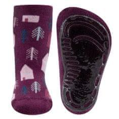 EWERS dívčí protiskluzové ponožky ABS 221196 19-20 růžová
