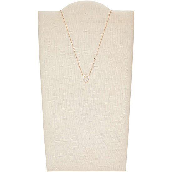 Fossil Elegantní dámský náhrdelník JF03067791