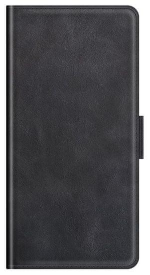EPICO Elite Flip Case ovitek za Samsung Galaxy A22 5G, preklopni, črn
