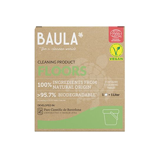 Baula Podlahy - ekologická tableta na upratovanie 5 g