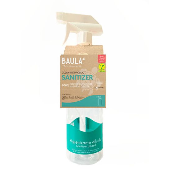 Baula Dezinfekcia Starter Kit - fľaša + ekologická tableta na upratovanie 5 g