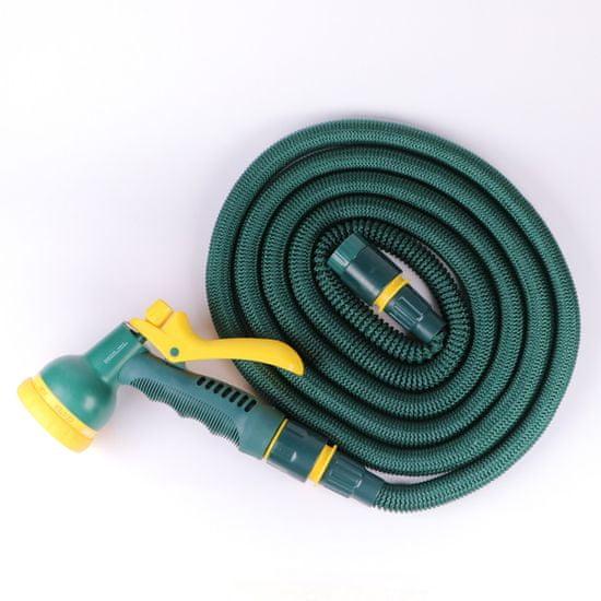 Steuber crijevo za zalijevanje vrta, rastezljivo, zeleno, 33 m