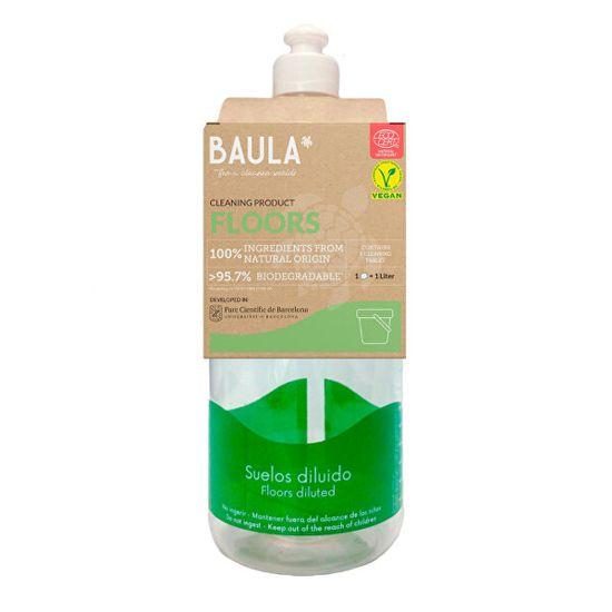 Baula Podlahy Starter Kit - fľaša + ekologická tableta na upratovanie 5 g