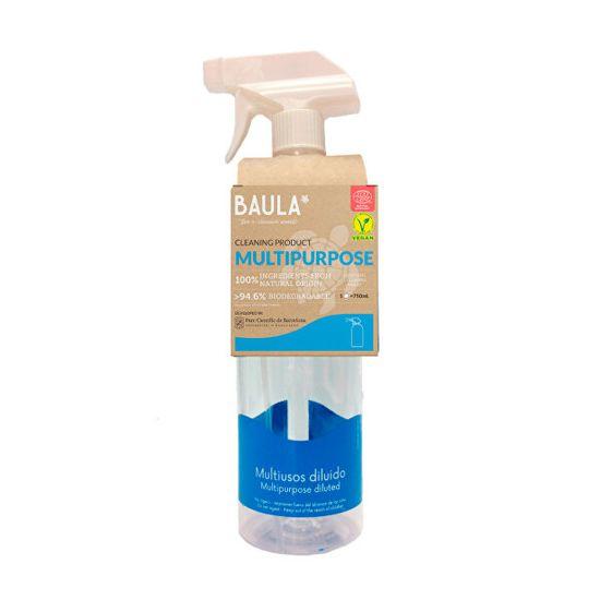 Baula Univerzal + sklo Starter Kit - fľaša + ekologická tableta na upratovanie 5 g