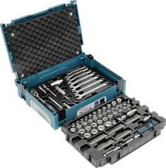"""Makita E-08713 Sada hlavic 3/8"""", klíčů a nástavců 120 ks v systaineru"""