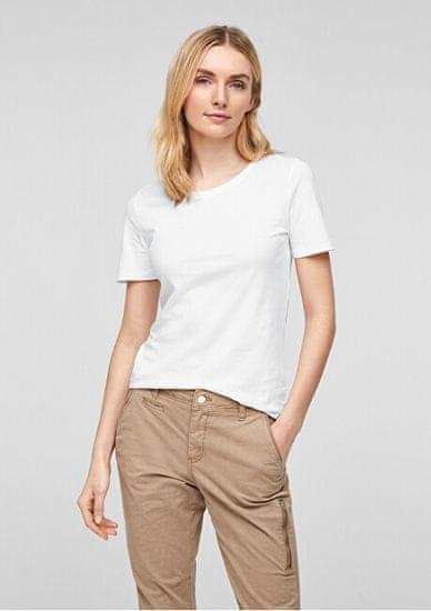 s.Oliver Dámske tričko Slim Fit 04.899.32.7187.0100