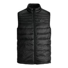 Jack&Jones Plus Pánská vesta JJEACE 12194739 Black (Velikost 4XL)
