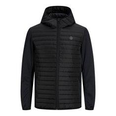 Jack&Jones Moška jakna JJEMULTI 12182242 Black (Velikost M)