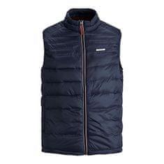 Jack&Jones Plus Pánská vesta JJEACE 12194739 Navy Blazer (Velikost 3XL)
