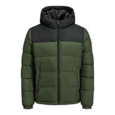 Jack&Jones Moška jakna JJPAUL 12189972 Forest Night (Velikost XL)