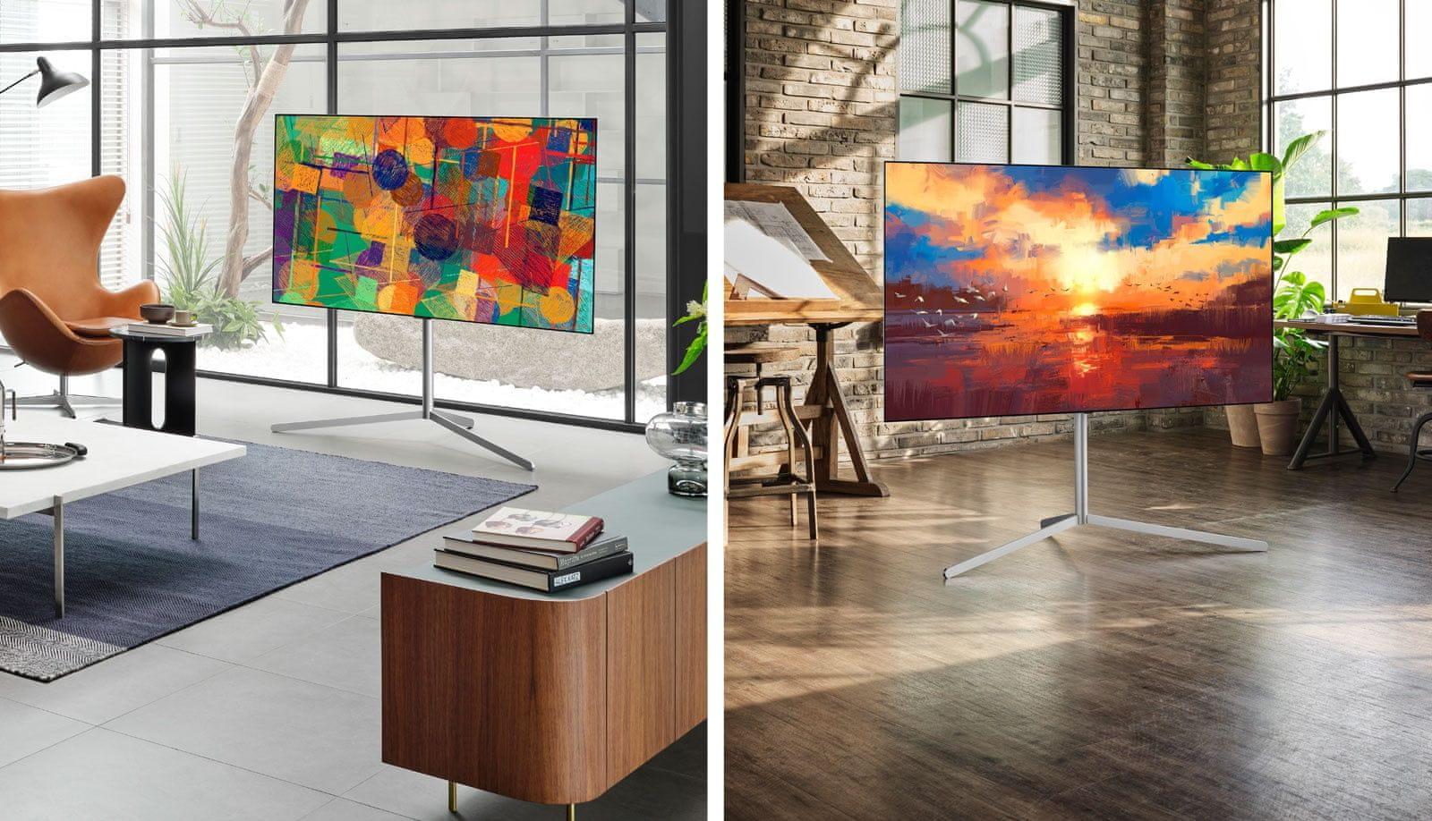 LG TV televízor OLED 4K 2021 stojan gallery