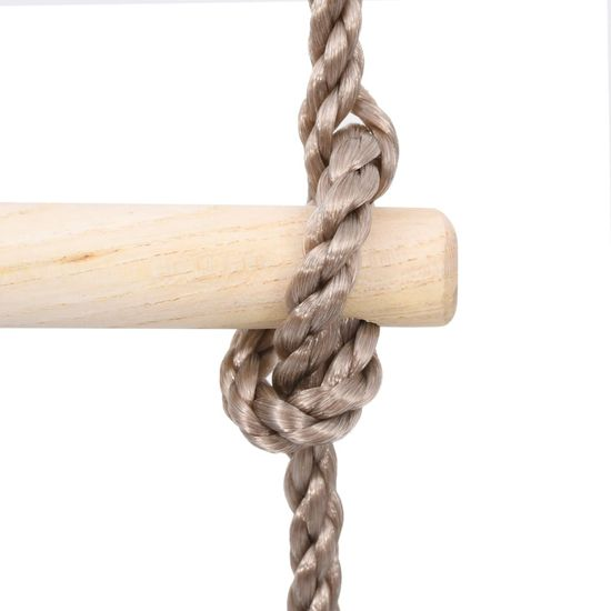 shumee 5stupňový žebřík 210 cm masivní borové dřevo