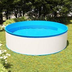 shumee Basen ogrodowy, 350x90 cm, biały