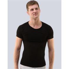 Gino Pánské tričko bambusové černé (58003) - velikost L