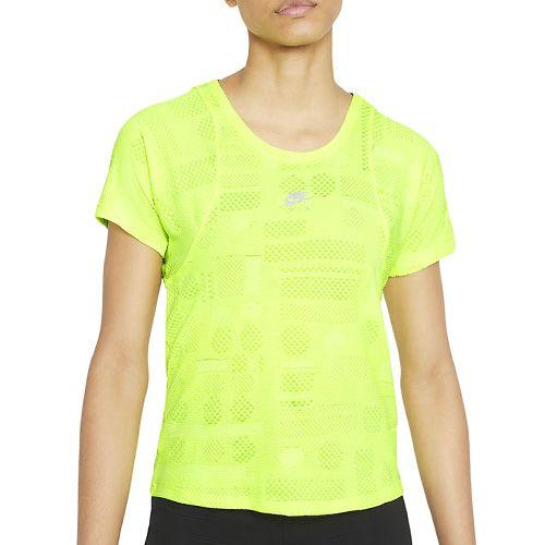 Nike Koszulka do biegania damska, Koszulka do biegania damska DD4027-702 | M