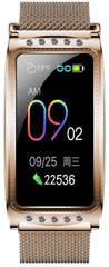 Immax chytré hodinky Crystal Fit, zlaté (HODIMM1069)