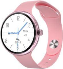 Immax chytré hodinky Lady Music Fit, ružová (09040)