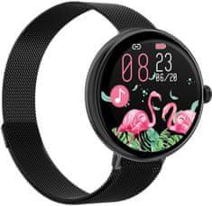 Immax chytré hodinky Lady Music Fit, čierna (09041)