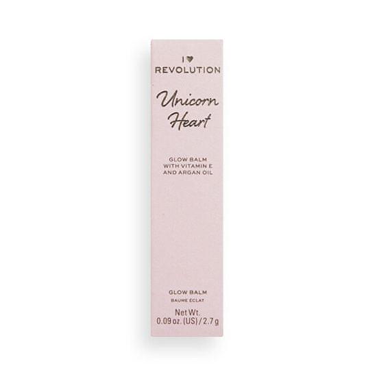 I Heart Revolution Balsam jednorożca w kształcie serca 2,7 g