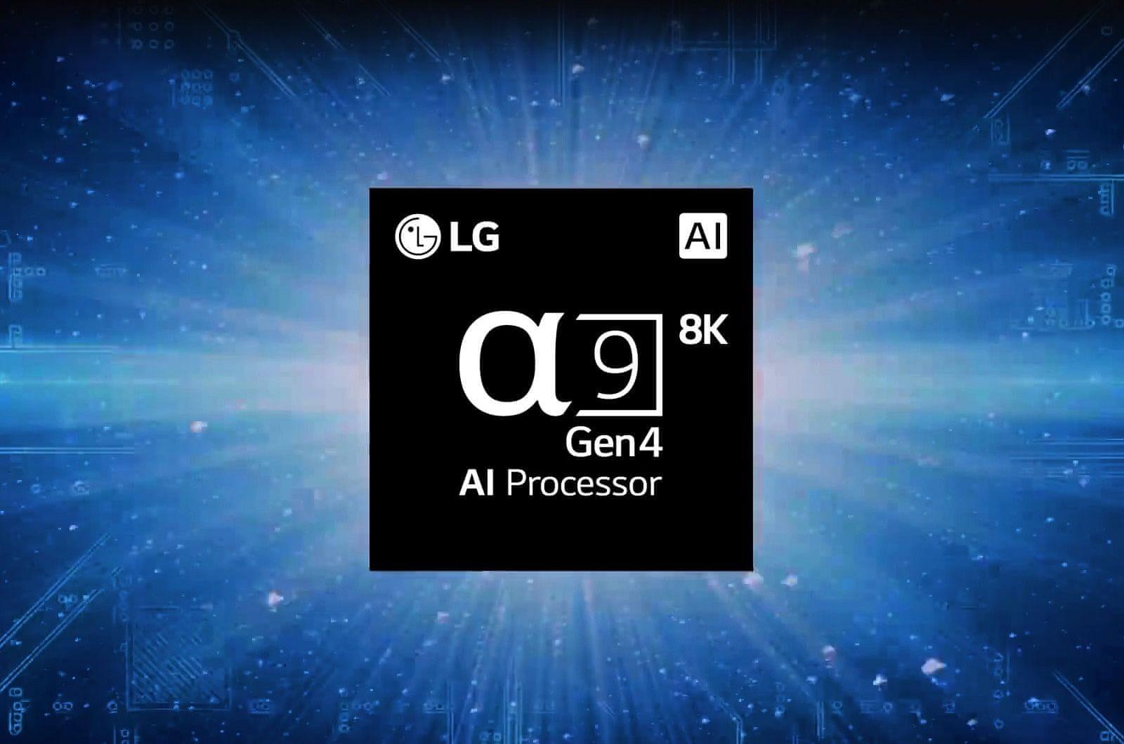 LG TV televize NANOCELL 8K 2021 procesor α7 8K Gen4 AI