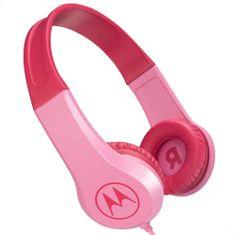 Motorola Squads 200 BT otroške slušalke, roza