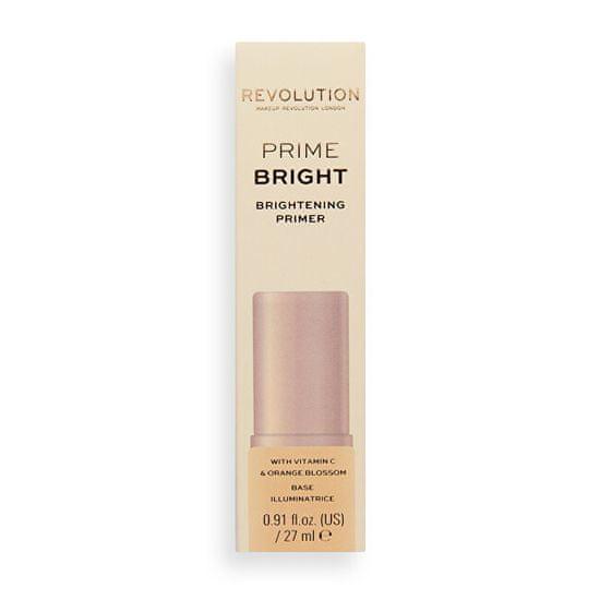 Makeup Revolution Rozjasňujúca podkladová báza pod make-up Bright Base (Brightening Primer) 27 ml