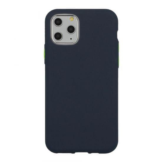 Maskica Neon za Samsung Galaxy S21 (G991), silikonska, tamnoplava