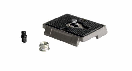 """Manfrotto Hitro menjoča ploščica z 1/4"""" navojem in gumijasto podlago sistem RC2 (200PL)"""