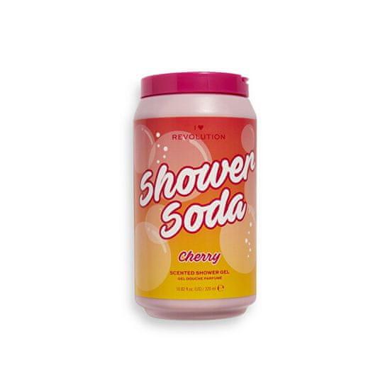 I Heart Revolution Tápláló tusfürdő Shower Soda Cherry (Scented Shower Gel) 320 ml