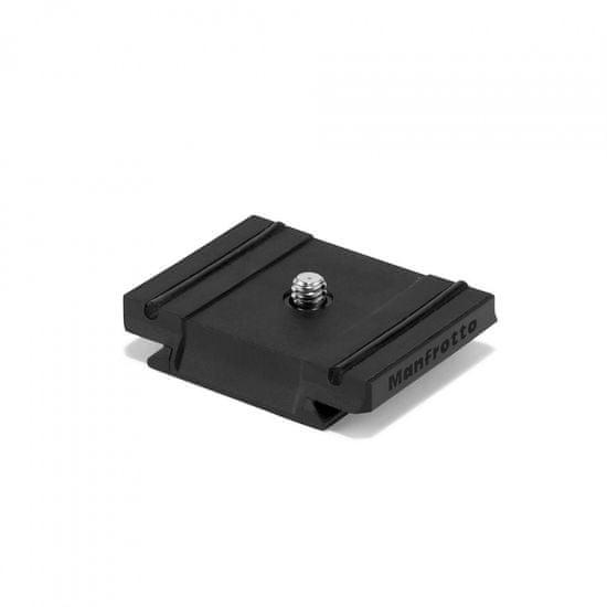 """Manfrotto Lahka hitro menjajoča ploščica iz Technopolymerja 1/4"""" navojem sistem RC2 & Arca Swiss (200LT-PL-PRO)"""