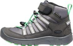 KEEN buty dziecięce Hikeport 2 Sport Mid WP Y black/irish green 32.5, czarny