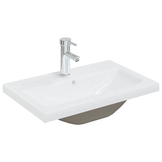 shumee Set kopalniškega pohištva Sonoma hrast bela in iverna plošča