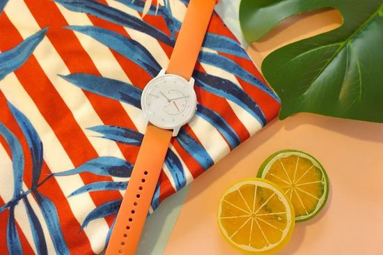 Withings Move, White/Coral