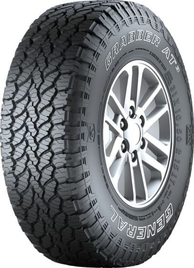 General Tire 225/75R16 108H Grabber AT3 XL