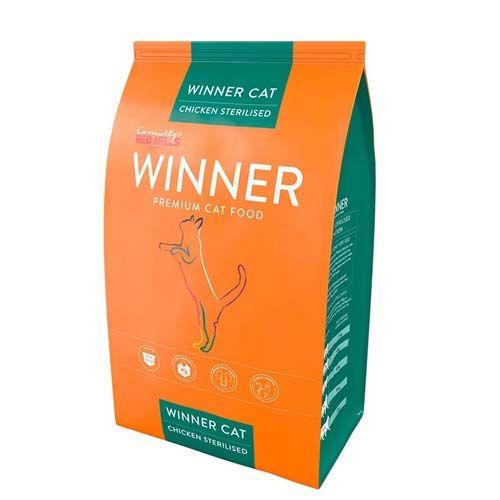 WINNER PREMIUM WINNER Cat Adult Sterlised 10kg prémiové krmivo pre sterilizované mačky