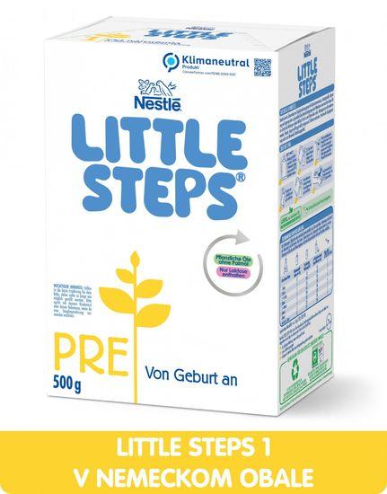 Nestlé LITTLE STEPS 1, počiatočná mliečna dojčenská výživa, od narodenia, 6x 500 g