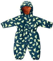 Jacky otroški funkcijski zimski kombinezon s kapuco Outdoor 3821630, 62, zelen