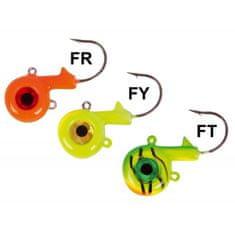 Iron Claw jigová hlava Big Eye, 21g Vzor FT, 3ks/bal