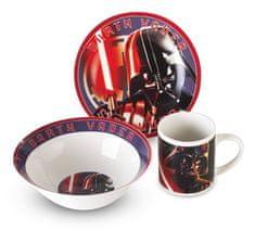 Berlingerhaus Jedálenská súprava tanierov detská 3 ks STAR WARS Darth Vader