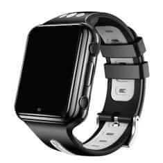 Klarion Detské čierno-sivé 4G smart hodinky E10-2020
