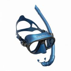 Cressi Set maska CALIBRO & šnorchl CORSICA modrá