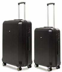 AIRBOX Sada kufrov AZ8 Black 2-set S+M