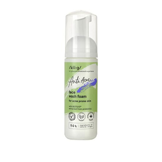 Kilig Čisticí pěna pro aknózní pleť Anti Acne (Face Wash Foam) 150 ml
