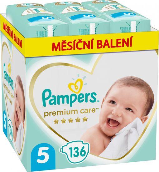 Pampers Pleny Premium Care 5 Junior (11-16 kg) 136 ks