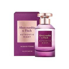 Abercrombie & Fitch Authentic Night Woman - EDP 30 ml