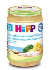 HiPP Těstoviny s mořskou rybou, brokolicí a smetanou - 6x220g